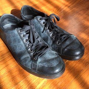 Gucci Black Gg supreme shoes size 10Us 9Gucci